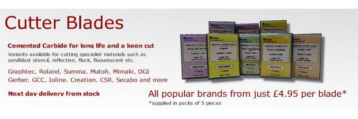 Cutter blades