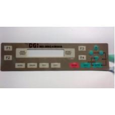DGI Control Panel Membrane OM-70/80/100/130/150